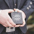 Your Logo Here or Custom Designs | Custom Etched 6oz. Matte Black Flask