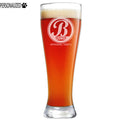 Bratton Personalized Etched Pilsner Beer Glass 23oz