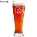 Scott Personalized Etched Pilsner Beer Glass 23oz