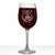 Scott Personalized Etched Monogram Stemmed Wine Glass 16oz