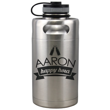 Insulated Beer Growler 64oz Keg