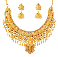 Gold Jewellery Bridal Set