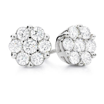 Diamond Earring-ER104/20 - patiala-diamonds
