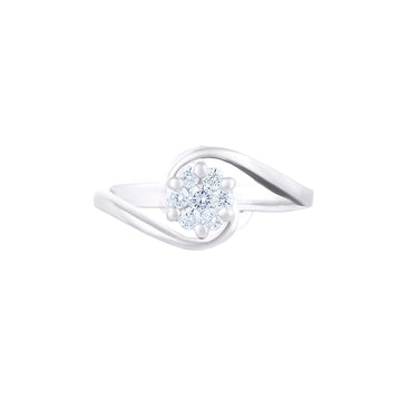 STYLISH ILLUSION SETTING RING