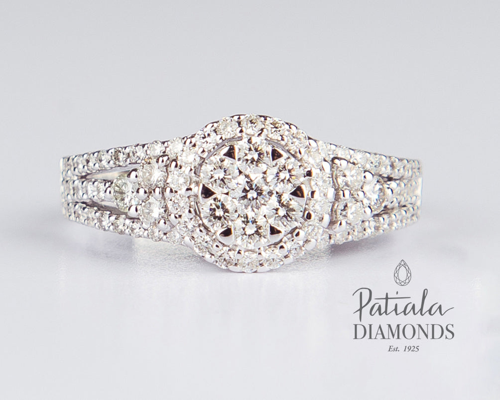 Diamond Ring-R3216 - patiala-diamonds