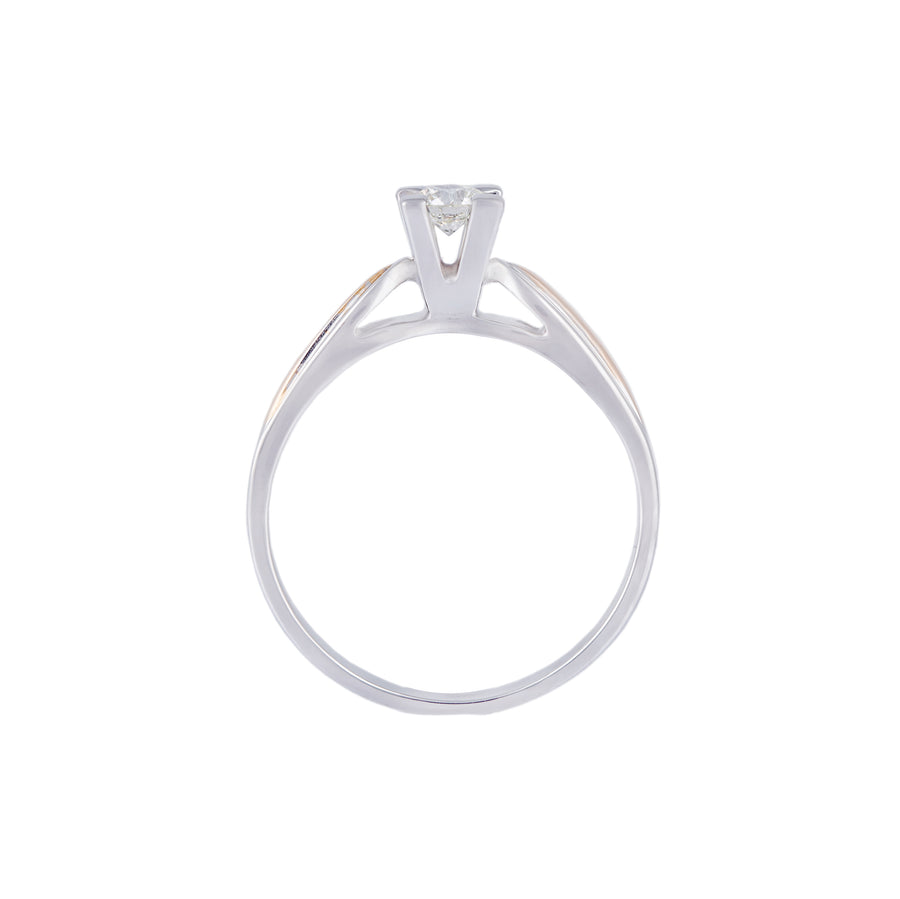 Classic Solitaire Diamond Ring- CS2 - patiala-diamonds