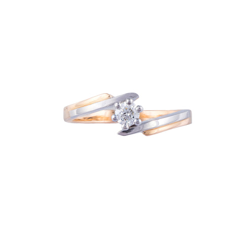 Classic Diamond Solitaire Ring- CS1 - patiala-diamonds