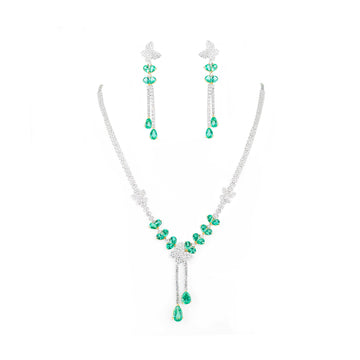 Diamond And Emerald Sets