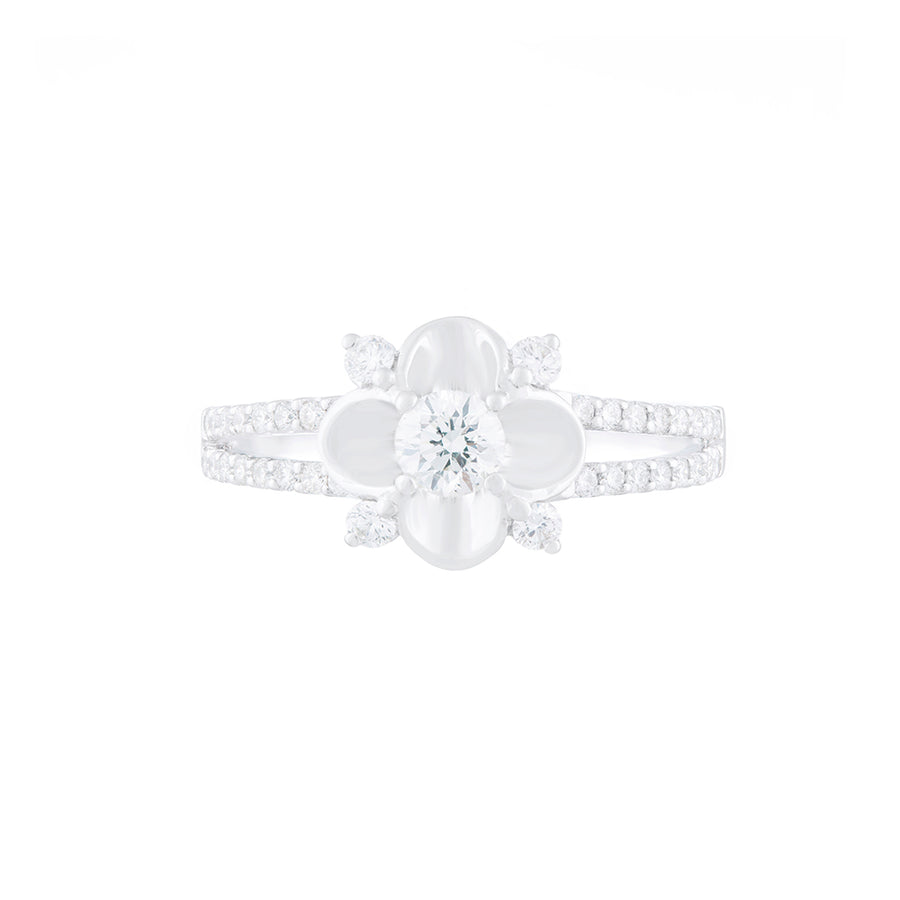 Solitaire Diamond Ring Round