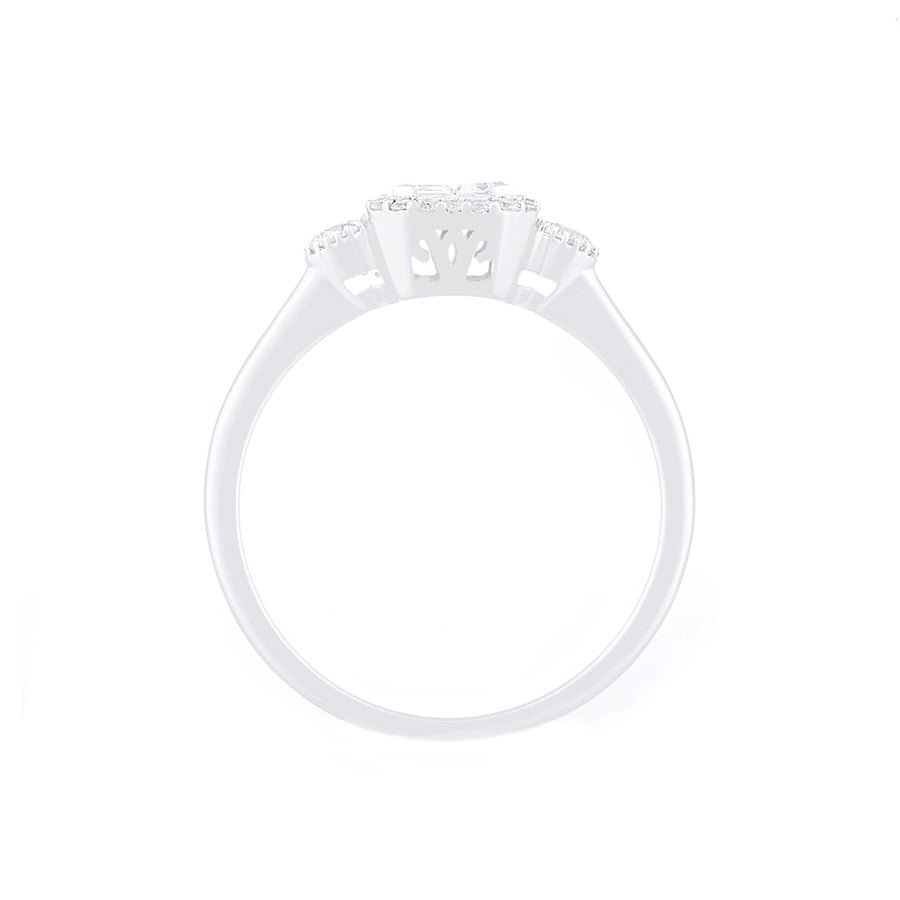 Carrie Cut Diamond Ring
