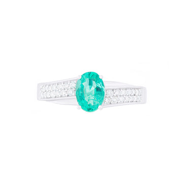 Diamond Emerald Ring-R59/12
