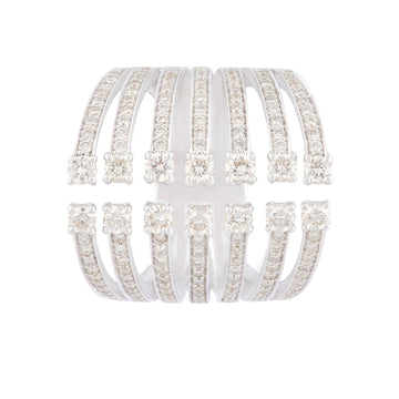 Multiband Diamond Ring