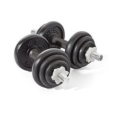 York Fitness Cast Iron Dumbbell Set