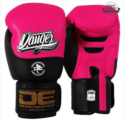 Pink / Black Evolution Boxing Gloves