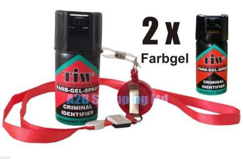 Spray - Farb Gel Farbgel Red Dye Personal Self Defence 100% UK Legal Attack Security Emergency Spray (2)
