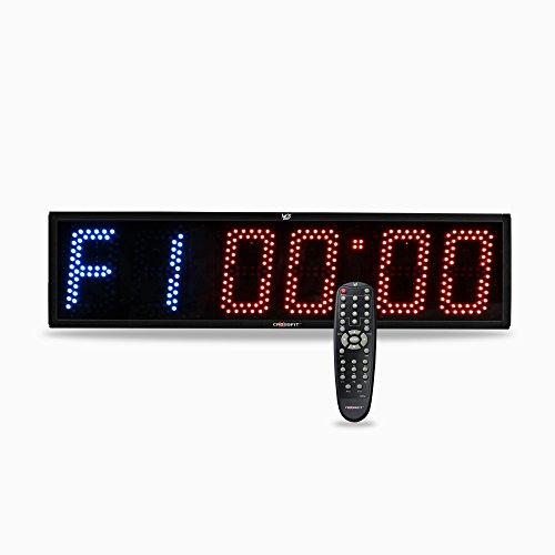 Image of Crosfit Timer Programmable Crossfit Interval Wall Timer with Wireless Remote