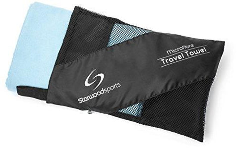 Towel - Microfibre Travel Towel - Sports Towel For The Beach - Gym - Camping - Swimming - Yoga And Pilates - Quick Dry, Lightweight And Compact