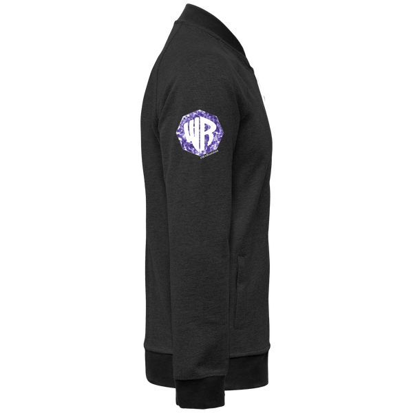 Purple R Drip Bomber Jacket