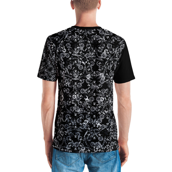 Runna Man Print Tee Black