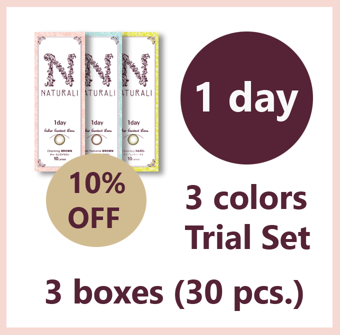Naturali 1 Day 3 Color set - 1