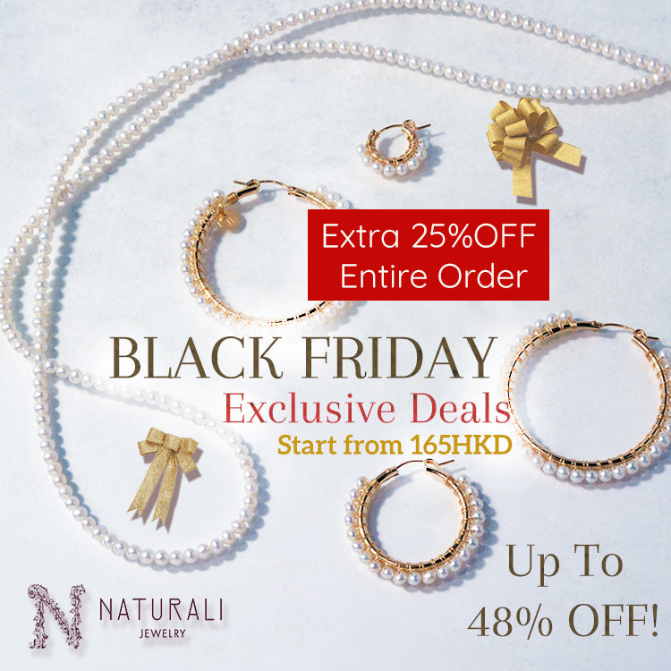 Naturali Jewelry is officially launched + Black Friday Sale!