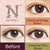 Naturali 1-day Charming Orange Brown (14.2mm) 10pcs