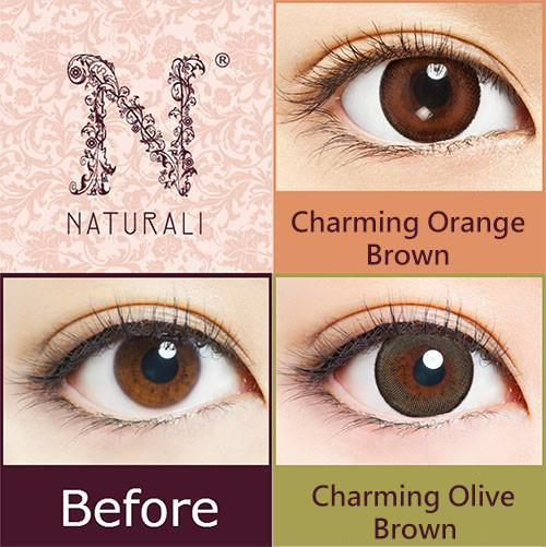 Naturali 1-day Charming Orange Brown (14.2mm)