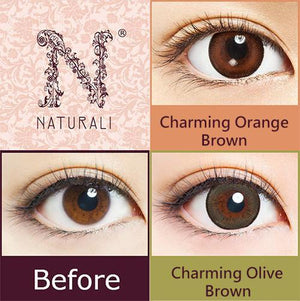 Naturali 1-day Charming Olive Brown (14.2mm) 10pcs
