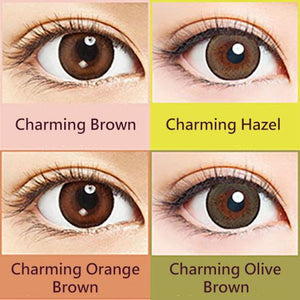 30 pcs Naturali 1-day Charming Brown (14.2mm)
