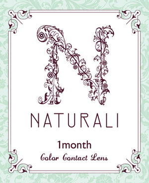 NEW! Naturali 1-month - Misty Brown 1pc (14.5mm)