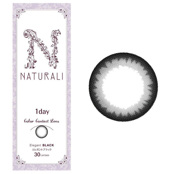 Clearance SALE! Naturali 1-day Elegant Black (14.2mm)
