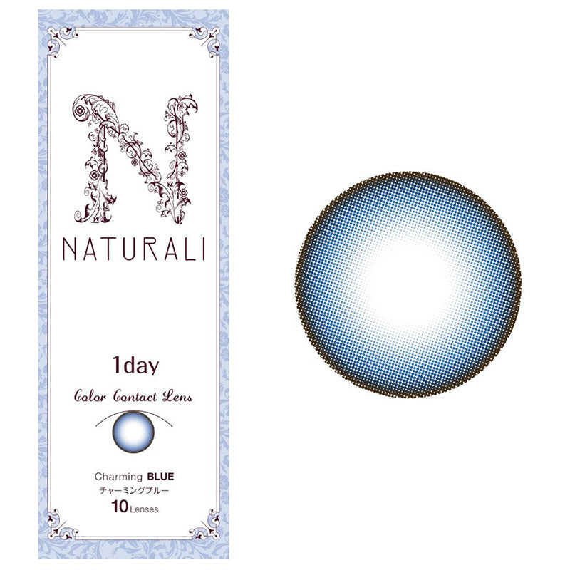 Naturali 1-day Charming Blue (14.2mm) 10pcs