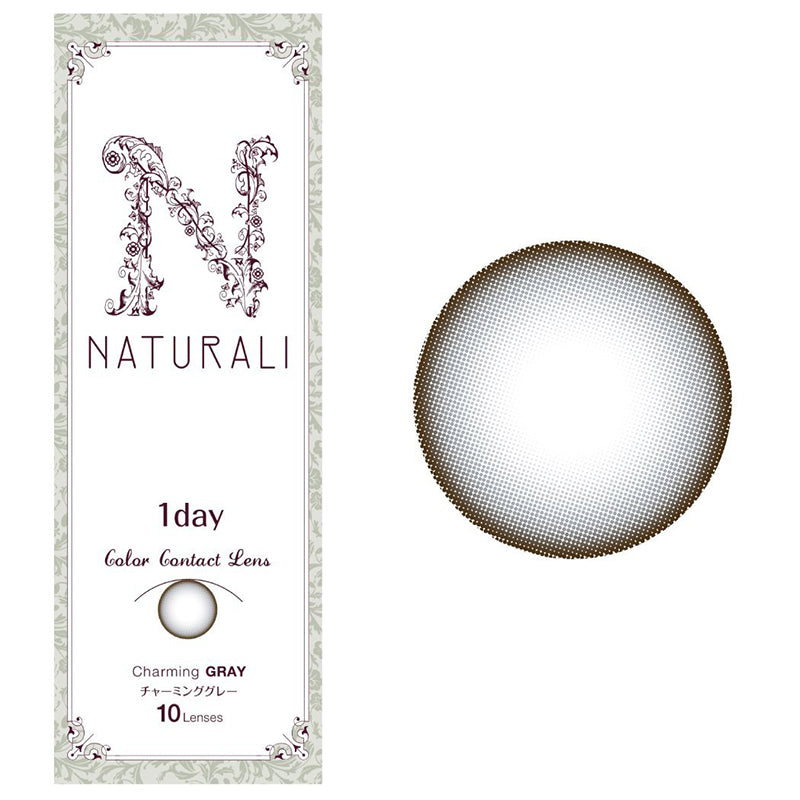 Naturali 1-day Charming Gray (14.2mm) 10pcs