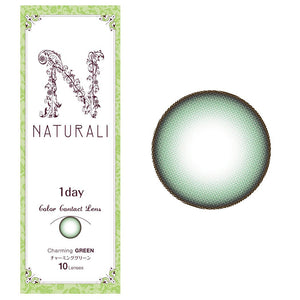 Naturali 1-day Charming Green (14.2mm) 10pcs