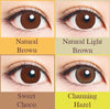 30 pcs Naturali 1-day Natural Light Brown (14.2mm)