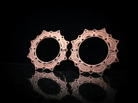 Tawapa Rose Gold Lotus Eyelets