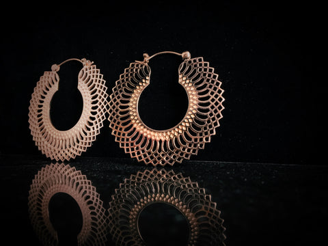 Tawapa Mini Snakeskin Hoops