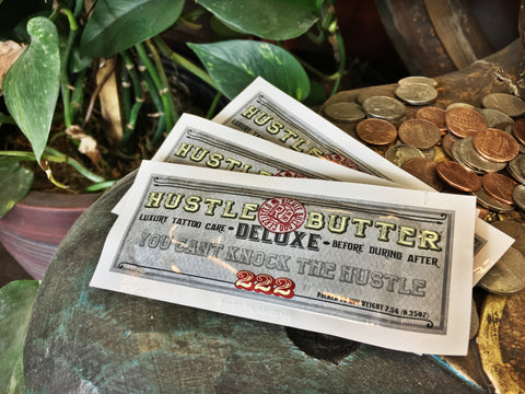 Hustle Butter Tattoo Care