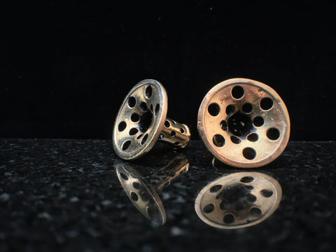 Eleven44 2g Gold Plated Polka Dot Eyelets