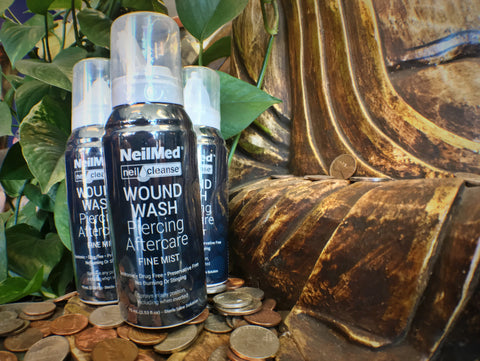 NeilMed Travel Size Wound Wash Piercing Aftercare Spray