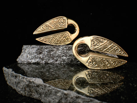Diablo Organics Brass Ornate Pantai Weights