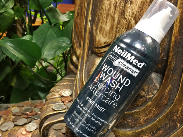 NeilMed Wound Wash Piercing Aftercare Spray