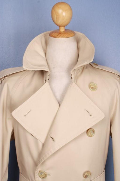 Collar front Burberry jacket