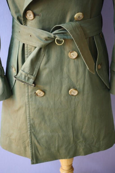 Belt from trench coat