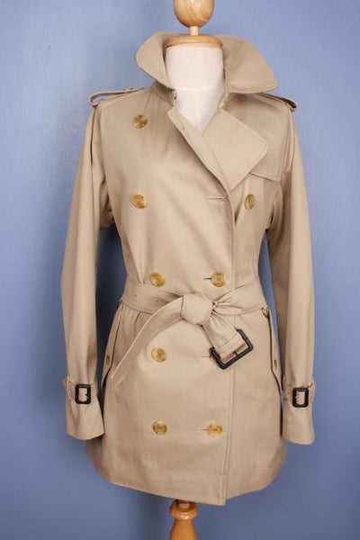 Front trench coat