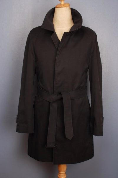 Mens Burberry Bespoke Short Trench Coat Front