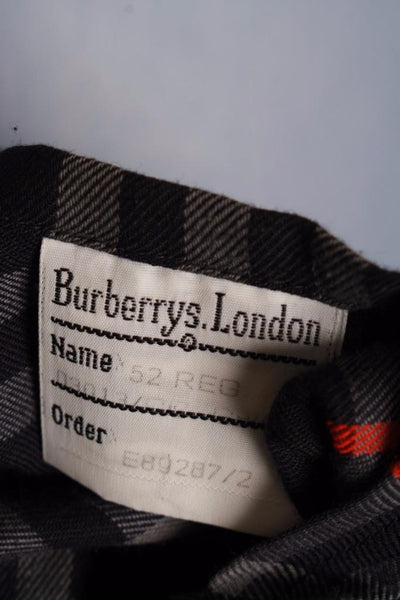 Mens Burberry Bespoke Short Trench Coat size label