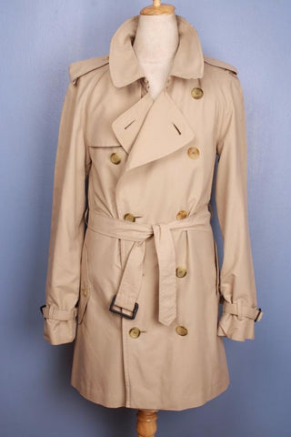 Burberry Bespoke Short Trench Coat Front