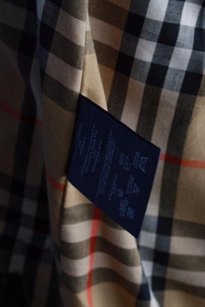 Burberry Short Trench Coat label 2