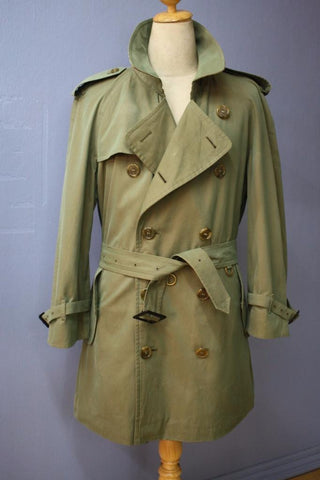 Burberry coat front